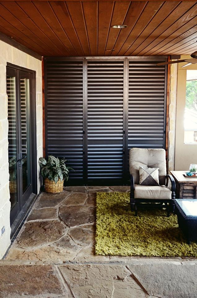 Shutters For Porch Privacy Spartanburg Palmetto Outdoor