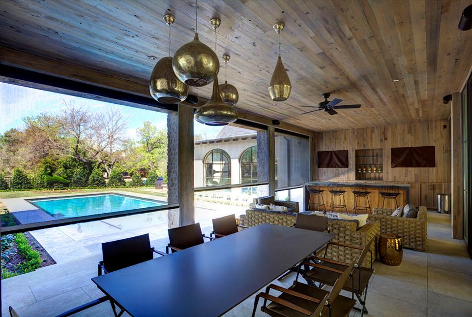 Beautiful Outdoor Living Space Inside View Palmetto