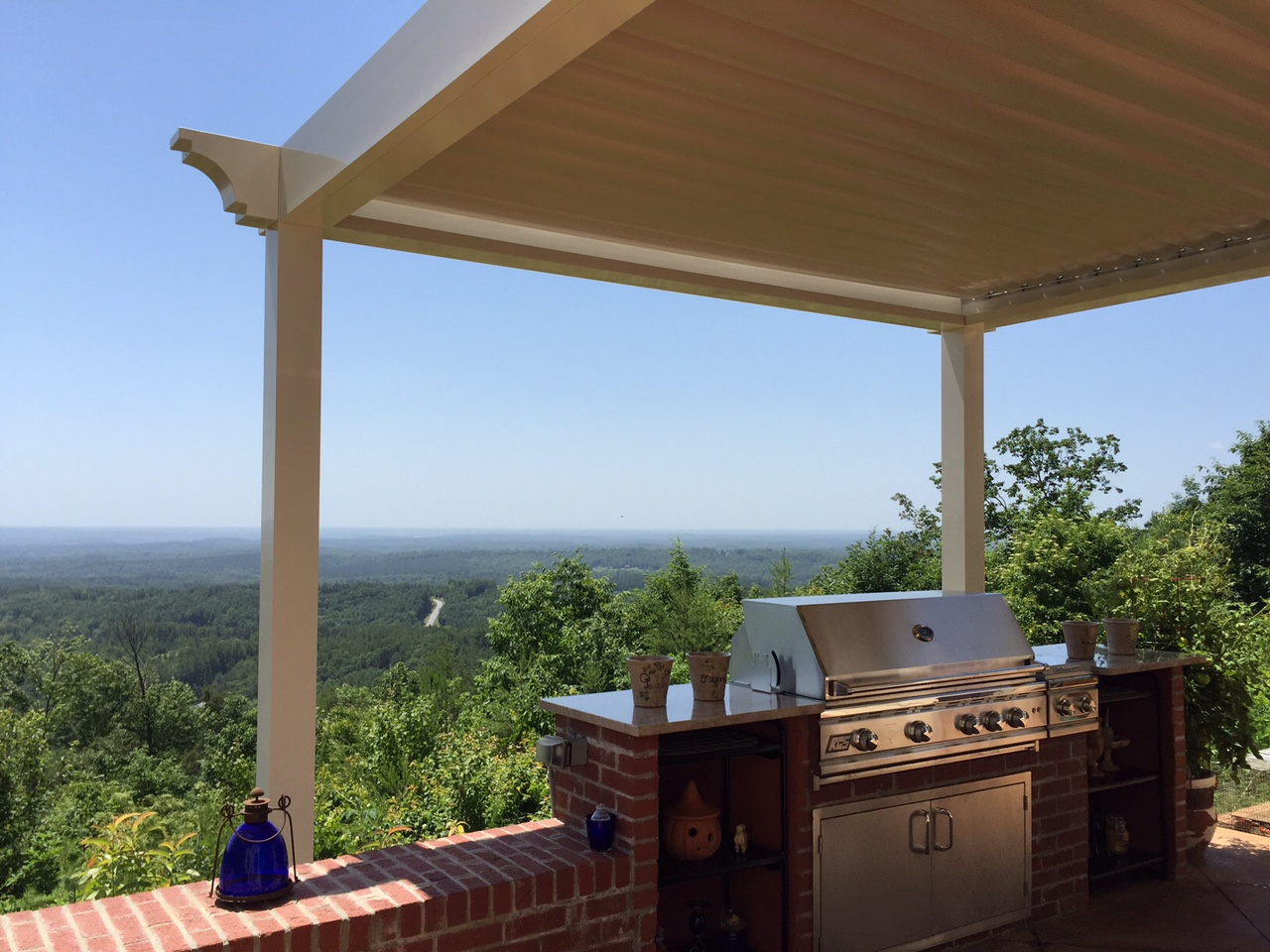 Salem Sc Pergola That Opens And Closes Palmetto Outdoor