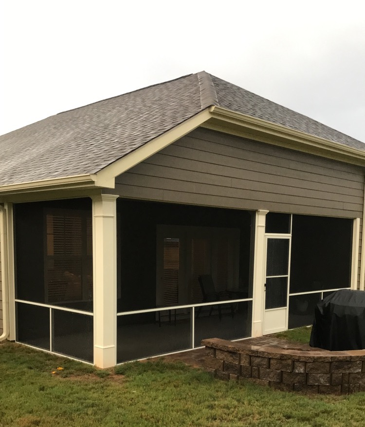 Ivory Screened Porch Simpsonville Sc Palmetto Outdoor