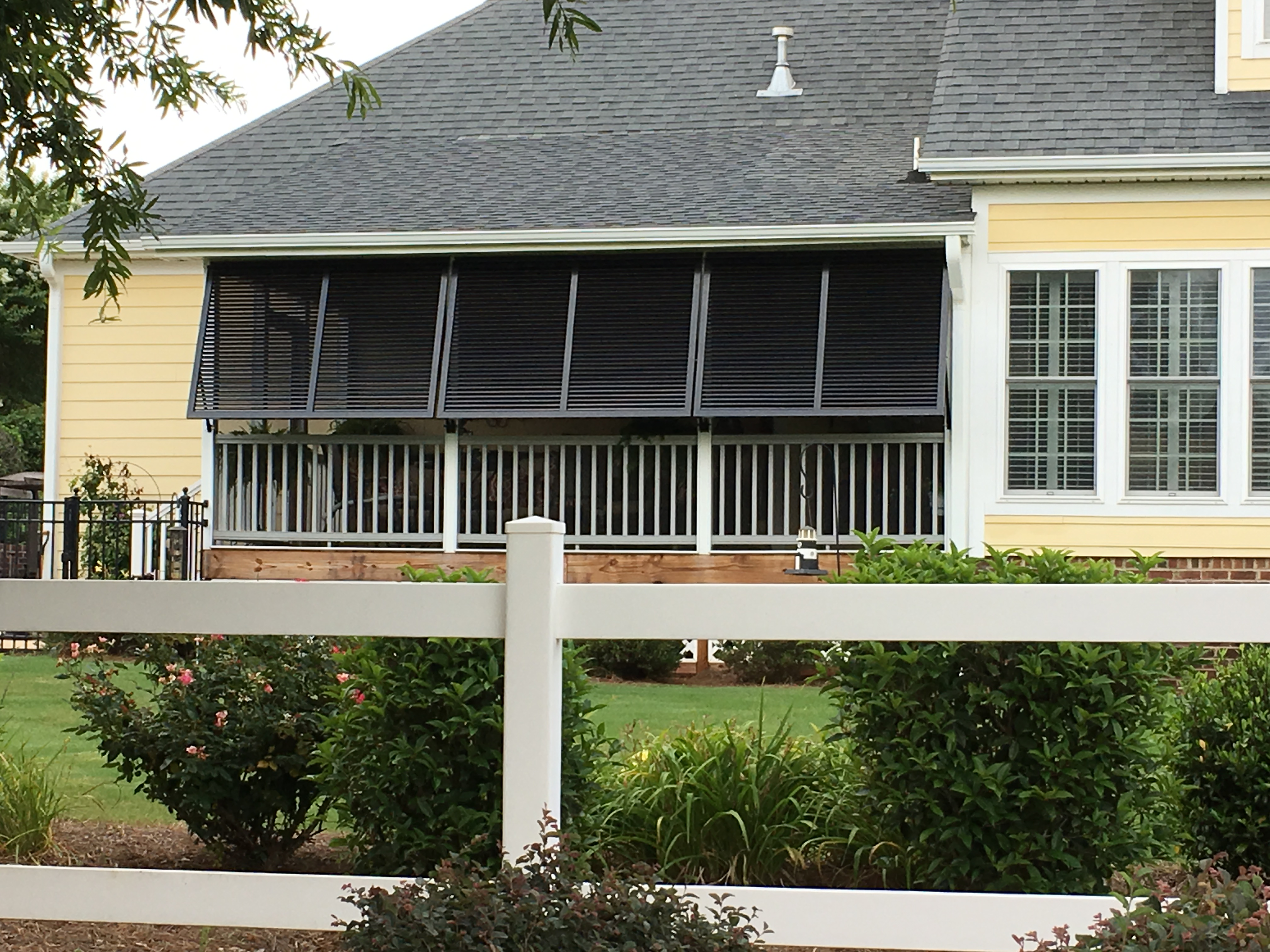 Bahama Porch Shutters Simpsonville For Privacy