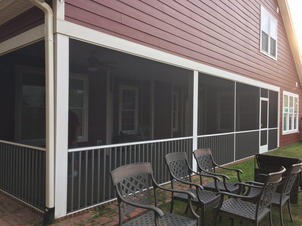 Winterize Screened Porch