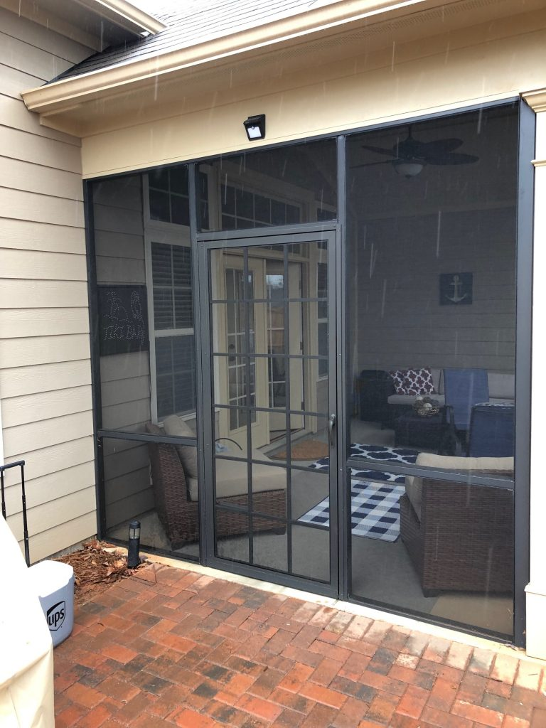 Pca Palmer Screen Door Looking Inside Palmetto Outdoor